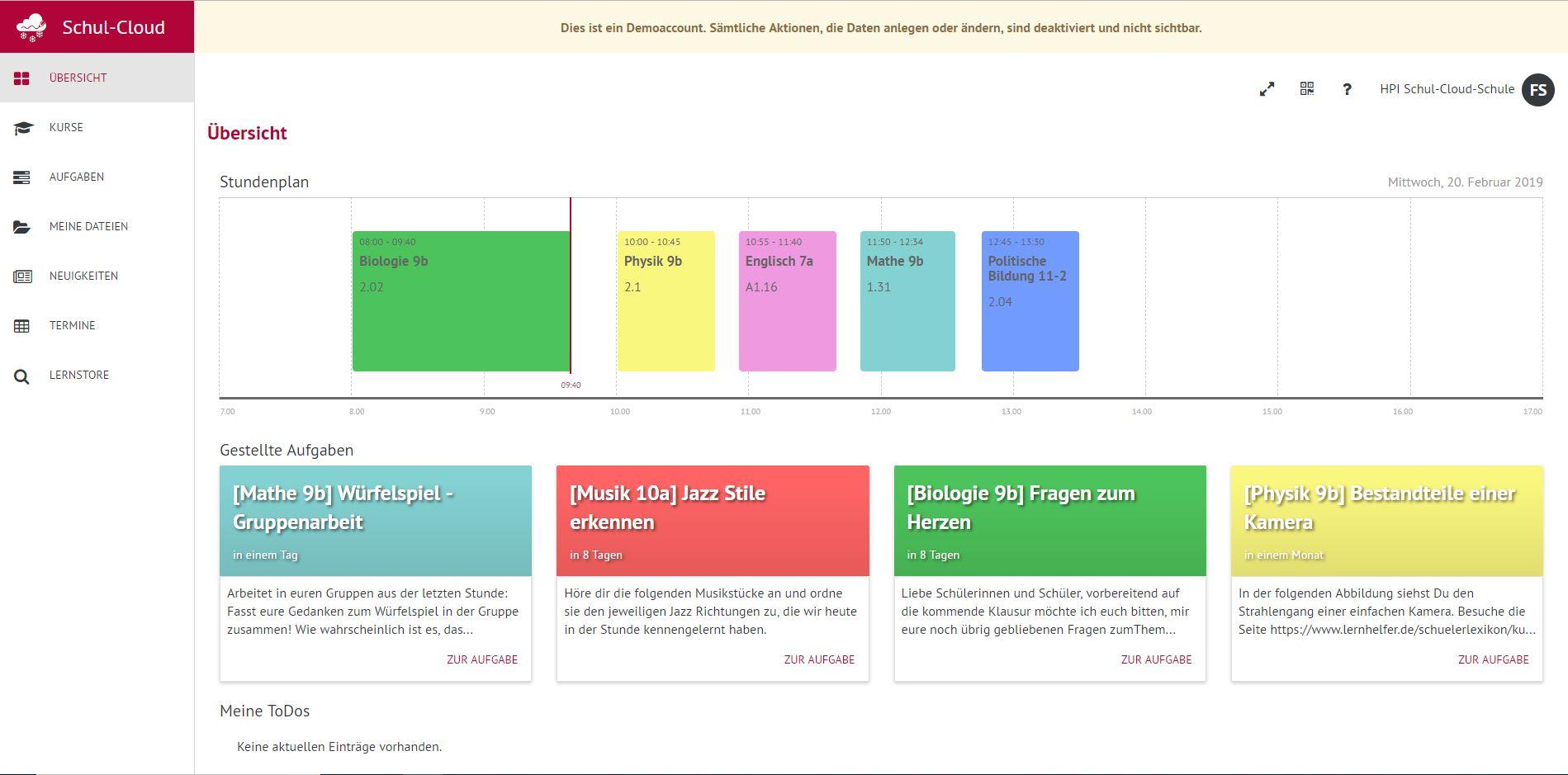 MSO nutzt neue digitale Lehr  und Lernplattform   Modellschule ...